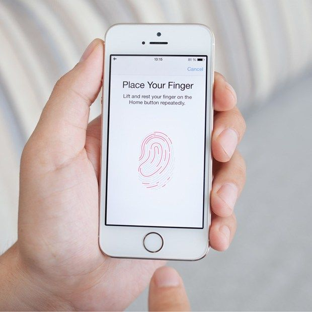 Finger print scanner image by Boris Baranja on Computers