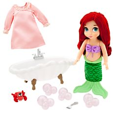 Disney Animators' Collection Ariel Doll Deluxe Bathtub Gift Set - 16''