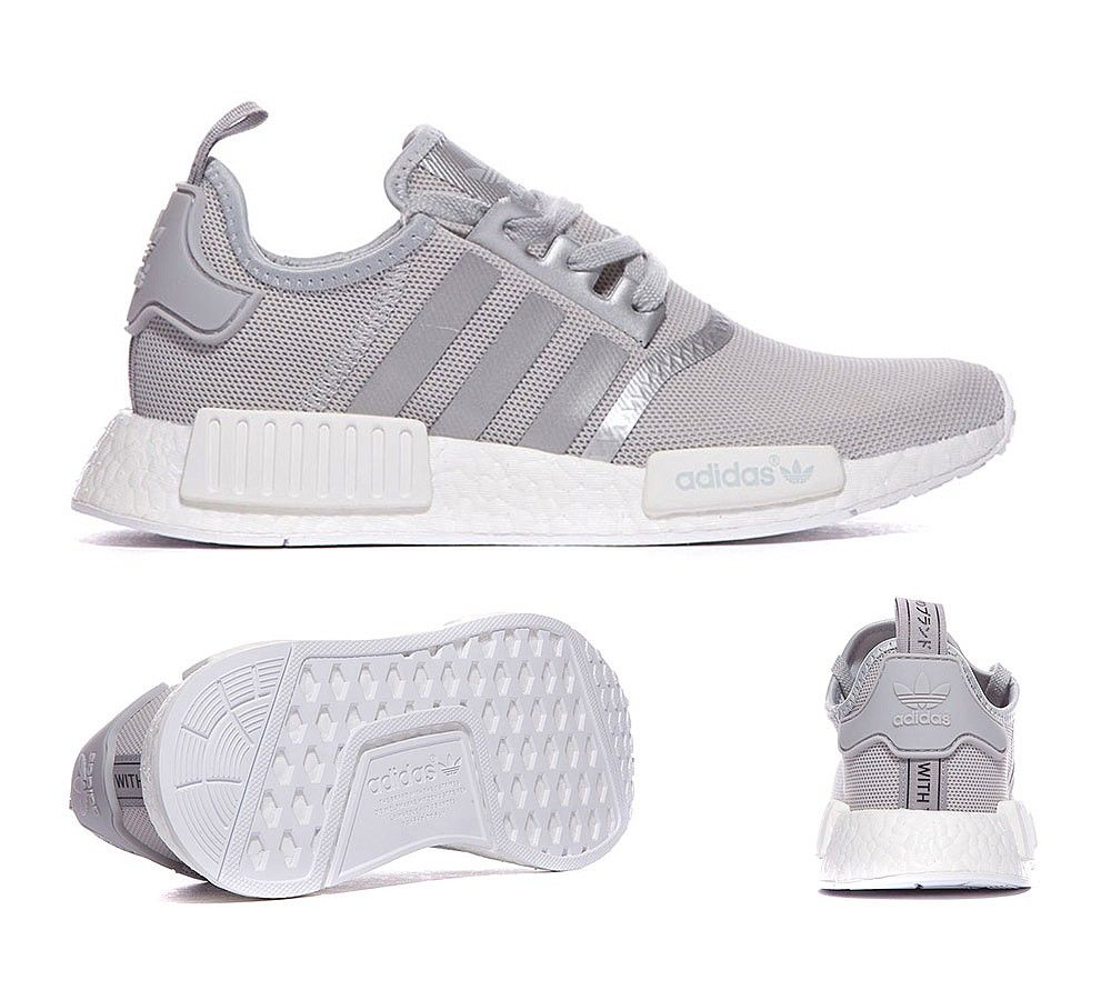 adidas Originals Womens NMD R1 Trainer | Silver | Footasylum