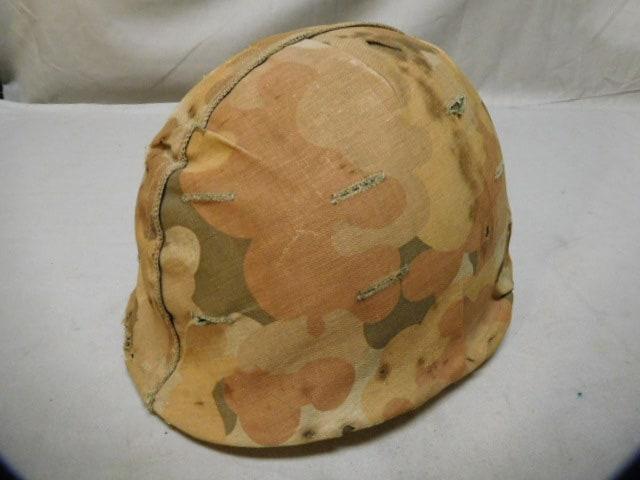U S M1 Helmet W Camo Cover Hu902 Time Traveler Militaria M1 Helmet Combat Helmet Camo