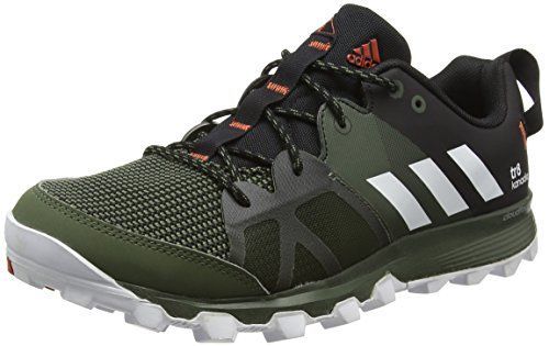 big sale 37a1a 10591 adidas Kanadia 8 Tr M, Mens Competition Running Shoes, Black (Core Heather
