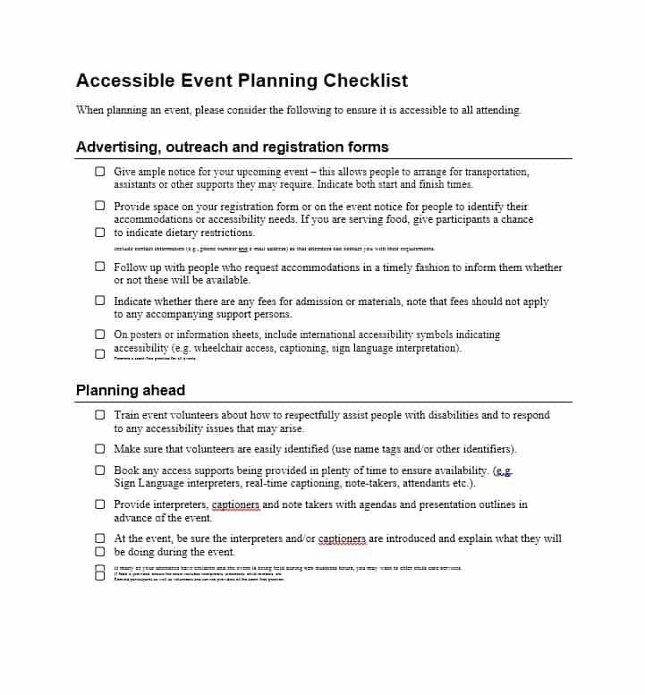 Download Event Planning Template 22 Anniversary