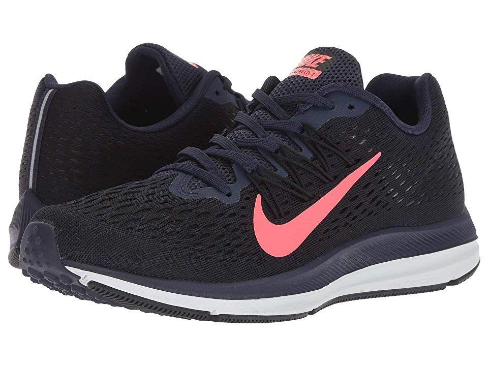 Nike Pegasus 35 And Winflo 5 Nike Air Zoom Winflo 5 Women's Running Shoes Blackened Blue/Flash ...