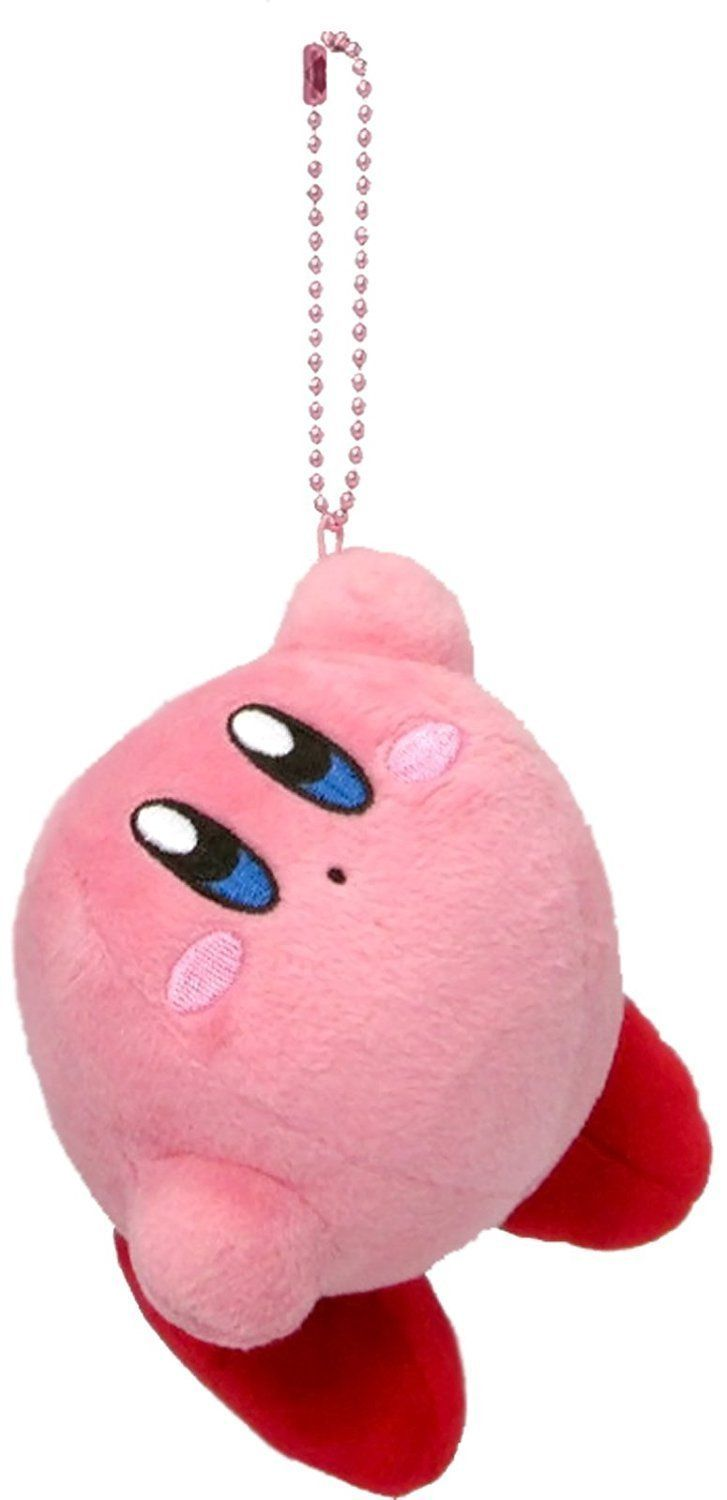 Kirby Plush Keychains released by Ichiban Kuji -