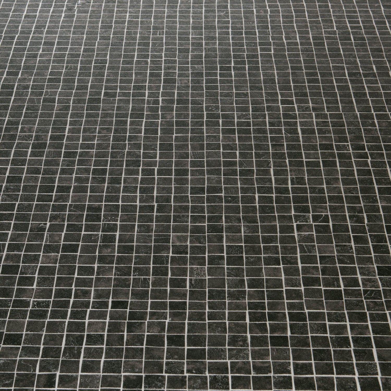 404 Not Found 1 Black Mosaic Tile Vinyl Flooring Tile Effect Vinyl Flooring