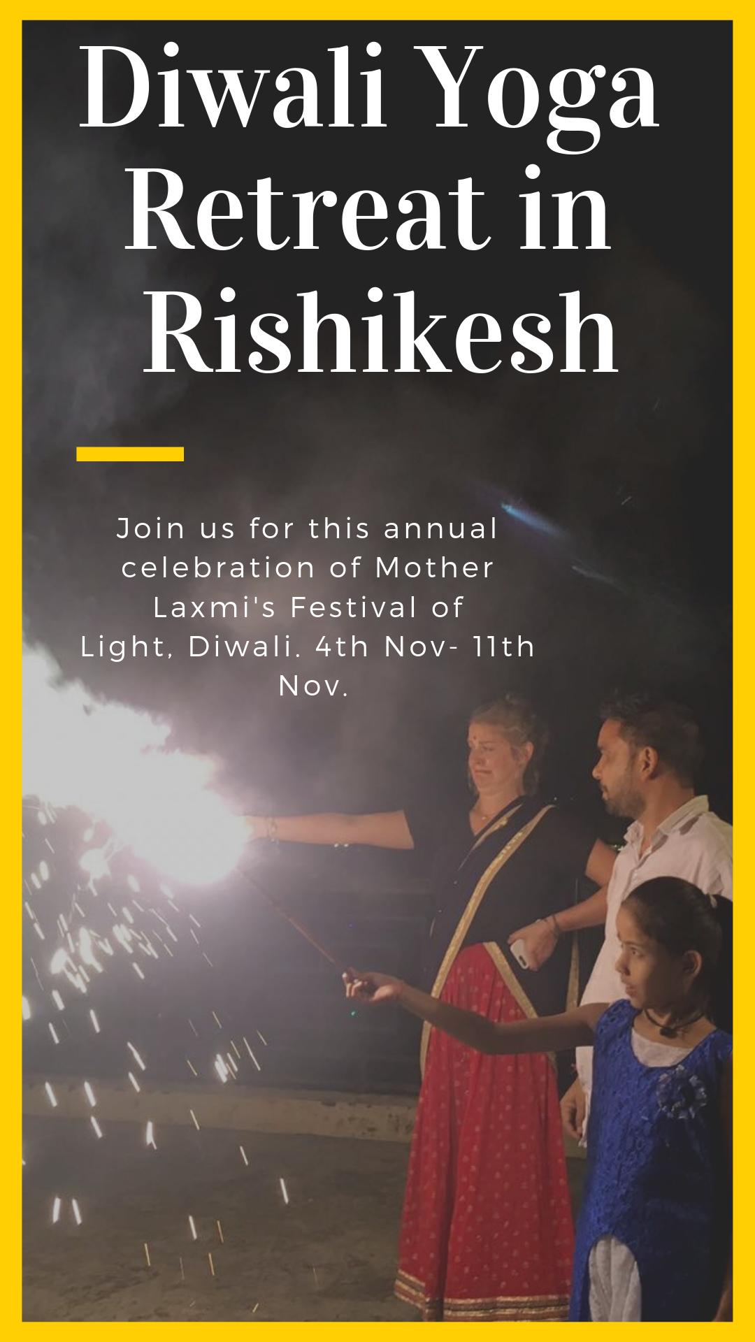 Rishikesh Yoga #Retreats invites you all for 7 days #Diwali