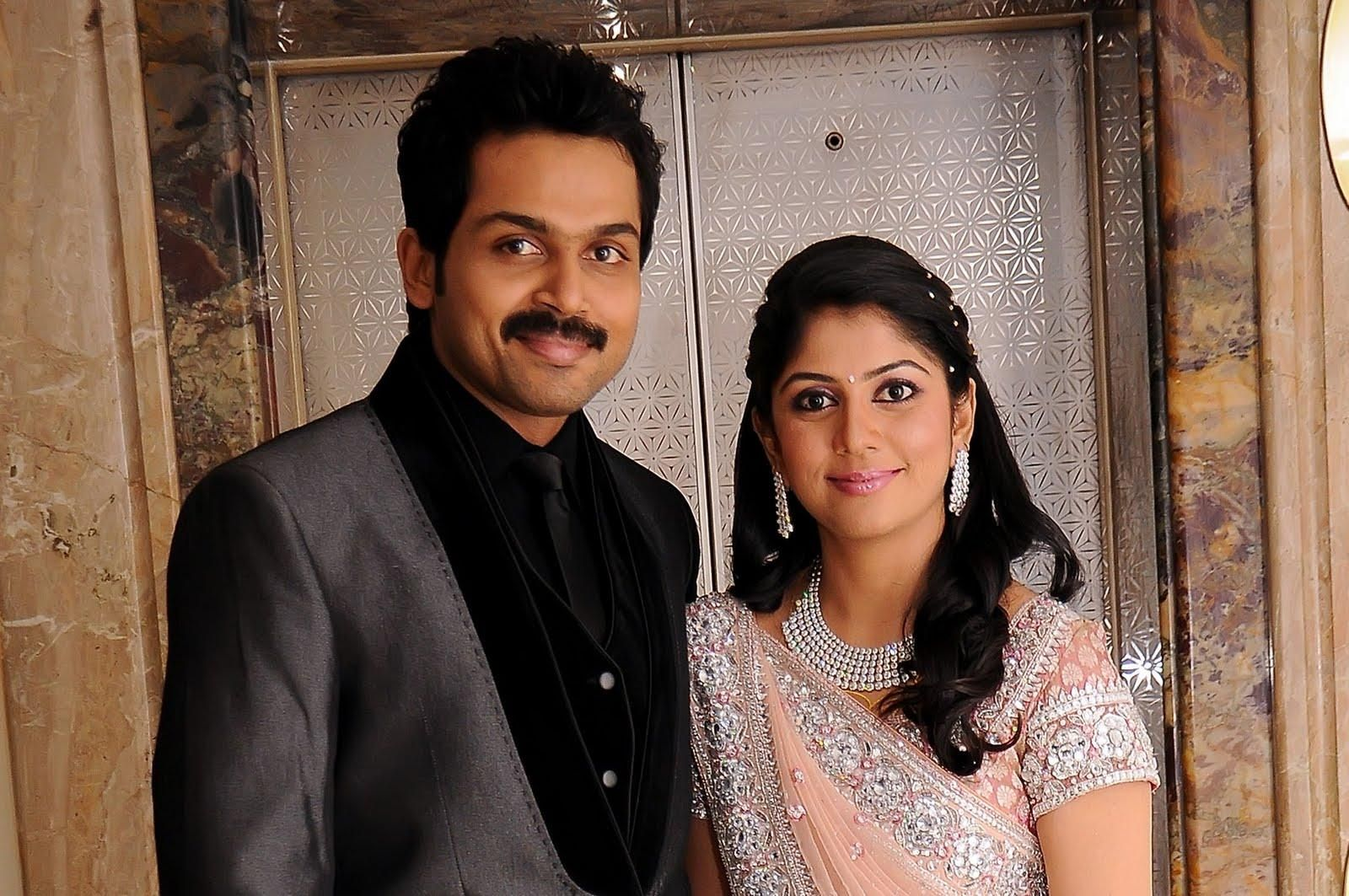 Actor Karthi with his wife #livedaycinemanews | Cinema - Do