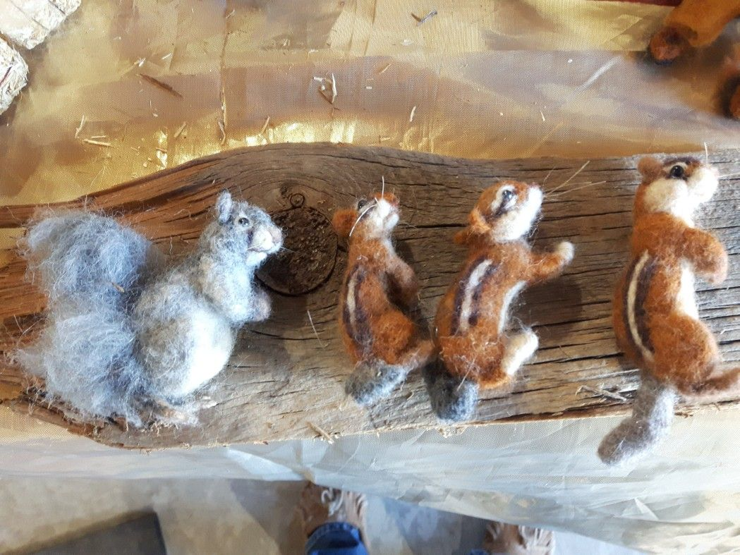 Mini Critters By Michelle Houston of The Wild'N Wooly