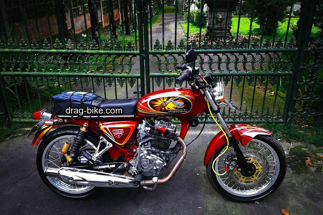 51 Foto Gambar Modifikasi Motor Cb 100 Terbaik Kontes Drag Bike Com Honda Cb Motor Gambar