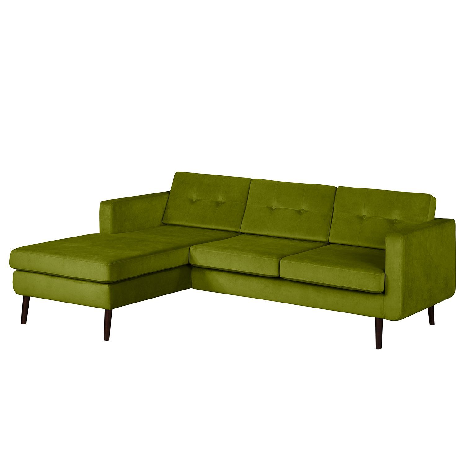 Ecksofa Croom Samt Ecksofas