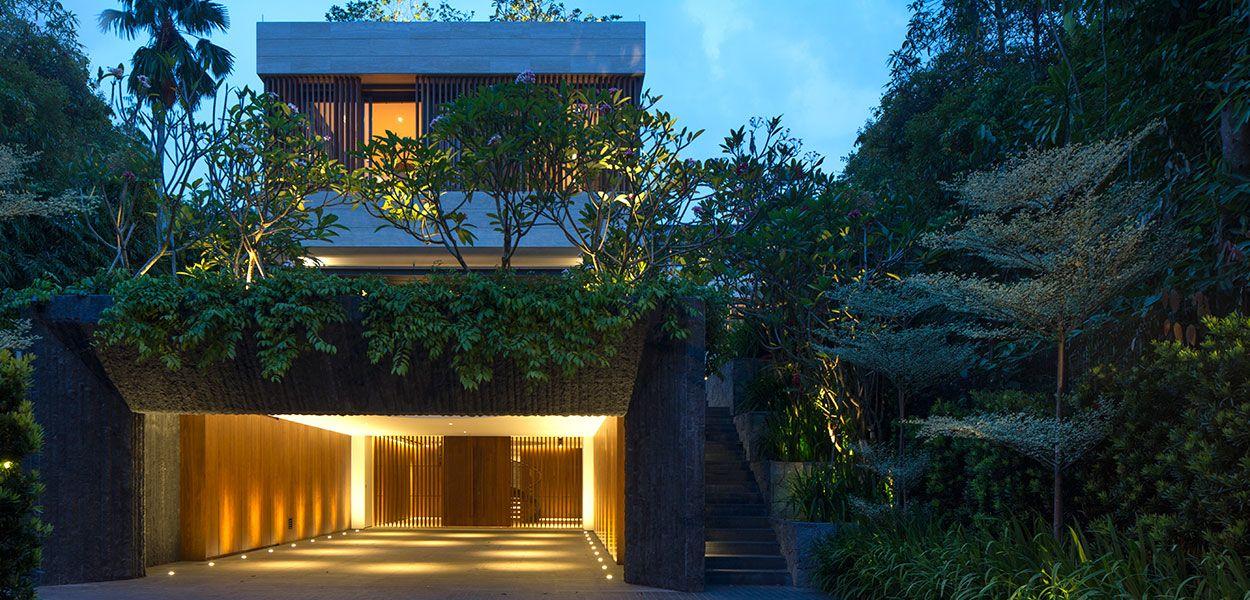 Secret Garden House Luxurious Contemporary Family Home In