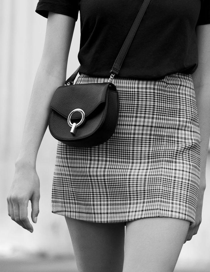 99457f14c Checked skirt | Modern classy | Skirts, Short skirts, Sandro