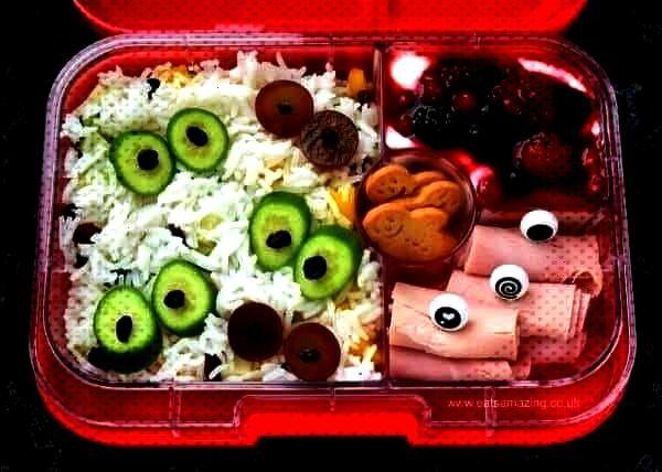 Lunches - Week 1 Fun eyeball the... , Fun Halloween Bento Lunches - Week 1 Fun eyeball the... , Fu