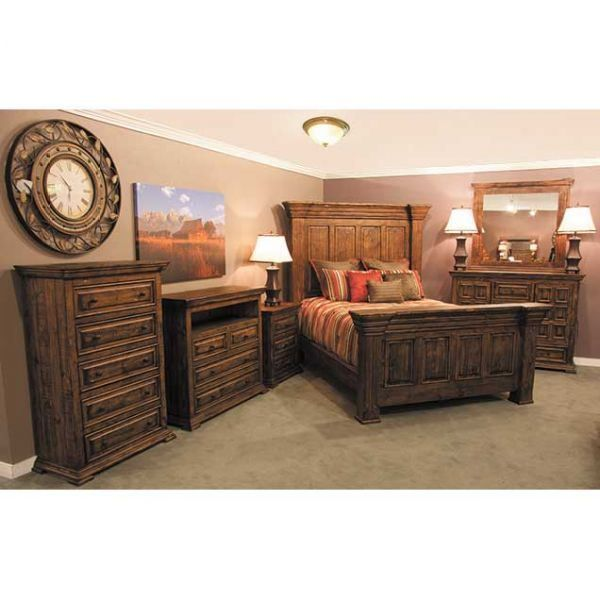 the isabella 5 piece bedroom set by nero lupo grand rustic looks frankly