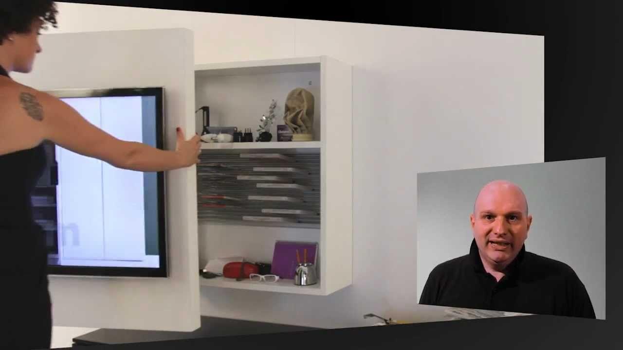Porta Tv Fimar.Porta Tv Rack Orientabile E Girevole By Fimar Tv Tv Rack