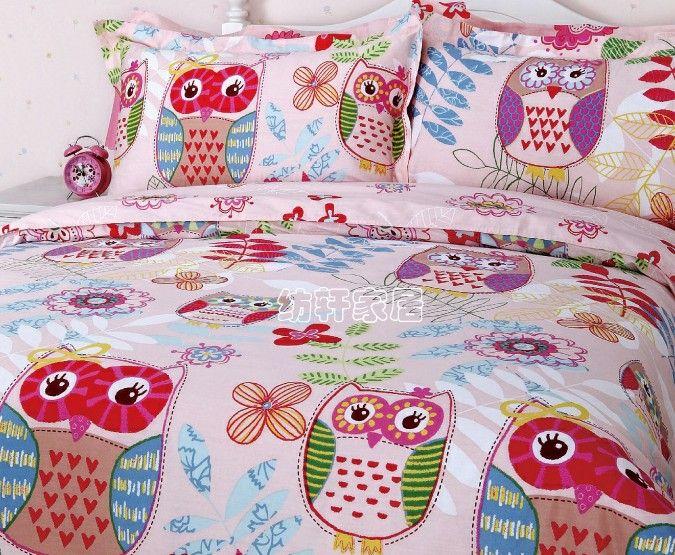 Dinorsaur Bedding For Girls Owl Bedding Sets 1711001