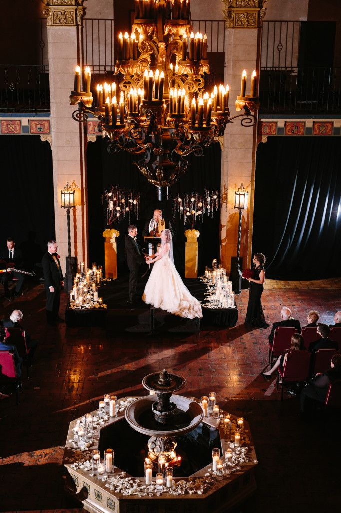 Vintage Hollywood Theme Wedding At The Hollywood Roosevelt Hotel