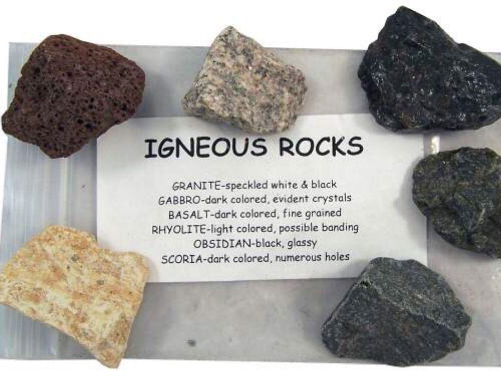 ما هي أنواع الصخور النارية موسوعة Igneous Rock Igneous Metamorphic Rocks