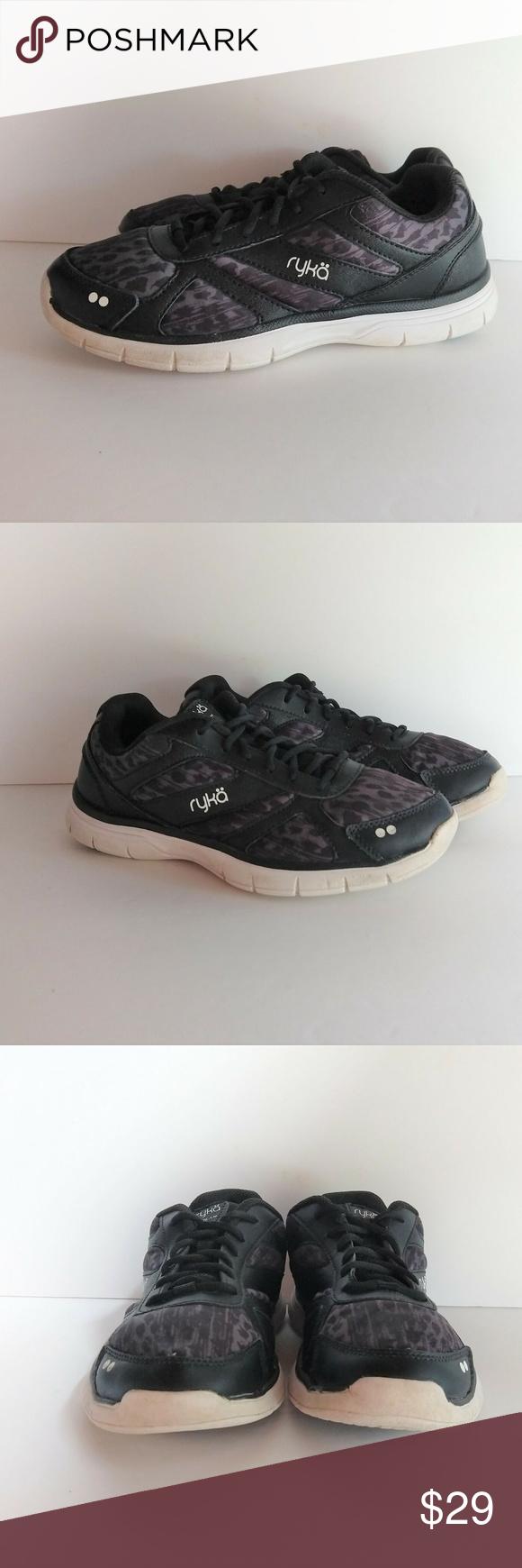 Ryka Dream Womens Sneaker Shoe Leather
