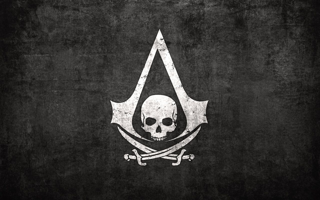 Black Flag Bandera Pirata Assassin S Creed Simbolo Fondo
