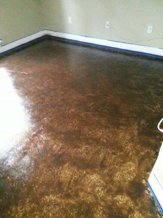 Behr concrete stain color loden | Projects | Behr concrete