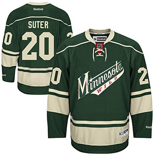 d74f1c4b0 NHL Minnesota Wild 20 Ryan Suter Mens Premier Jersey Green color Size XXXL    Read more at the image link. (This is an Amazon affiliate link and I  receive a ...