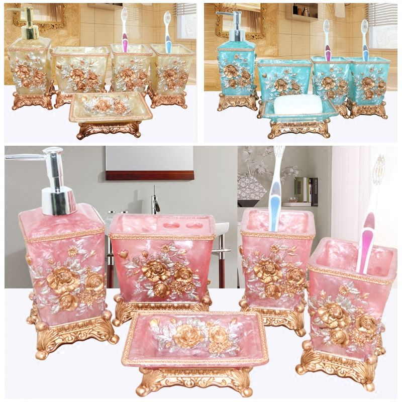 Bathroom Set Strikingly Ideas Pink Bathroom Set Popularne Kupuj
