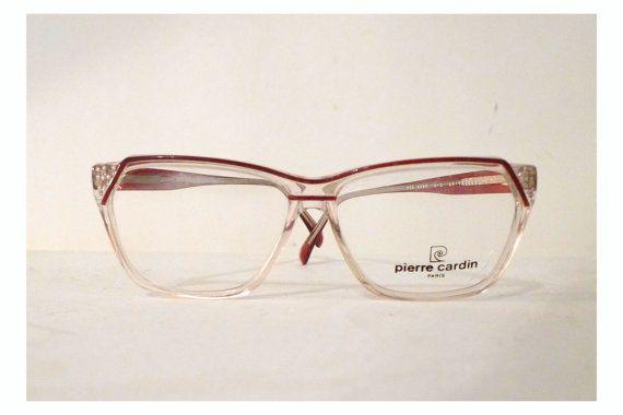 Big Unisex Pierre Cardin Eye Frames With Rhinestones, By BibbysRocket,  $134.00