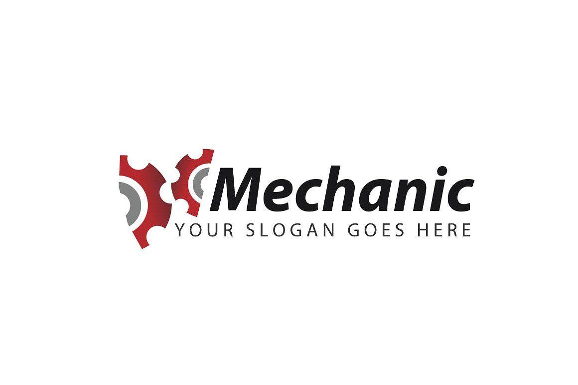 Mechanical Gear Logo Template