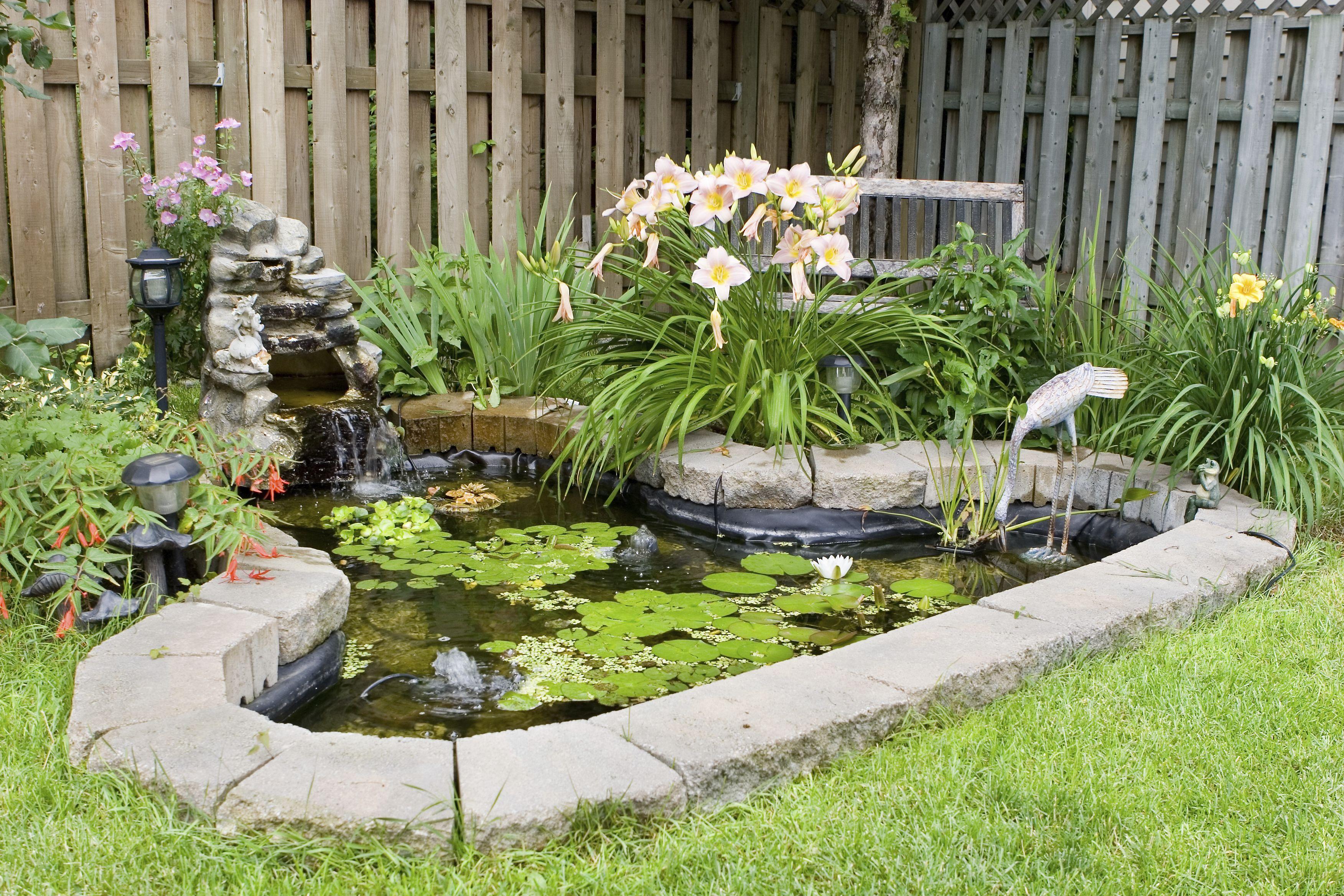 Facile à créer : votre mini bassin pour terrasse | Different ...