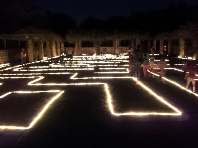 Pin by stephanie turner on lights pinterest lights more fun at family flashlight night light rope maze in the amphitheater bring your flashlights to explore the garden after hours mozeypictures Gallery