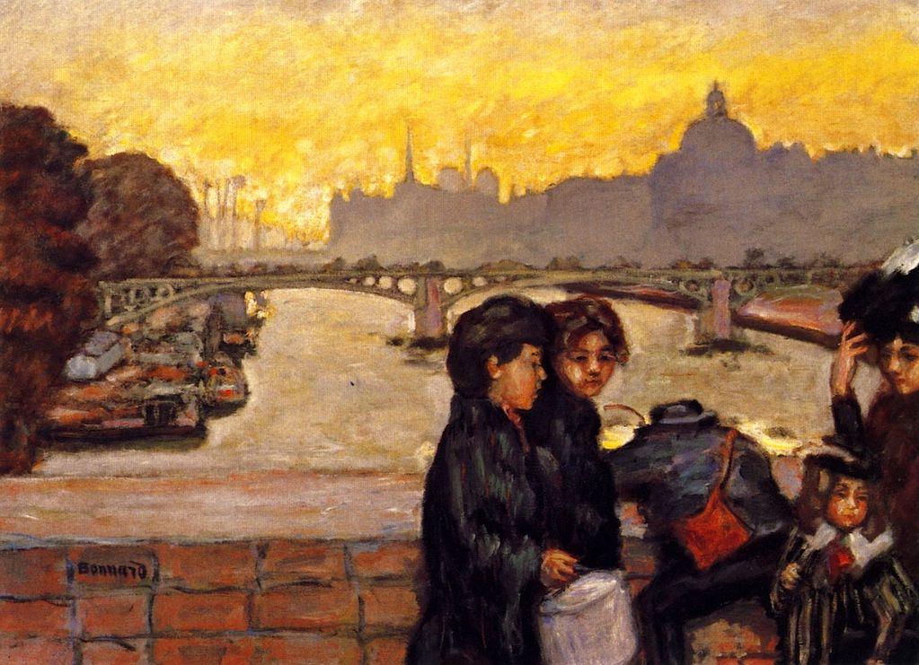 The Pont du Carrousel, Pierre Bonnard - circa 1903