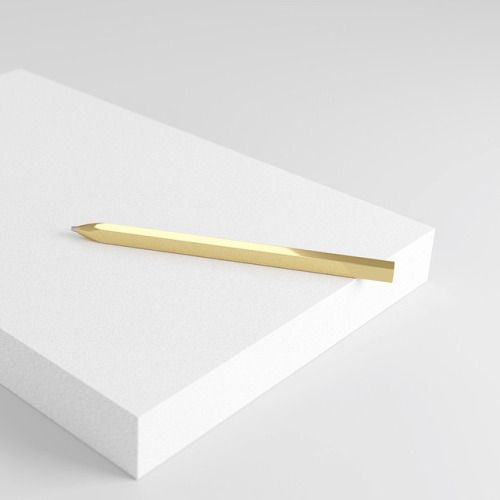 CMF we like / Bal Pen / Gold / White Block / Contrast / at Inspiration
