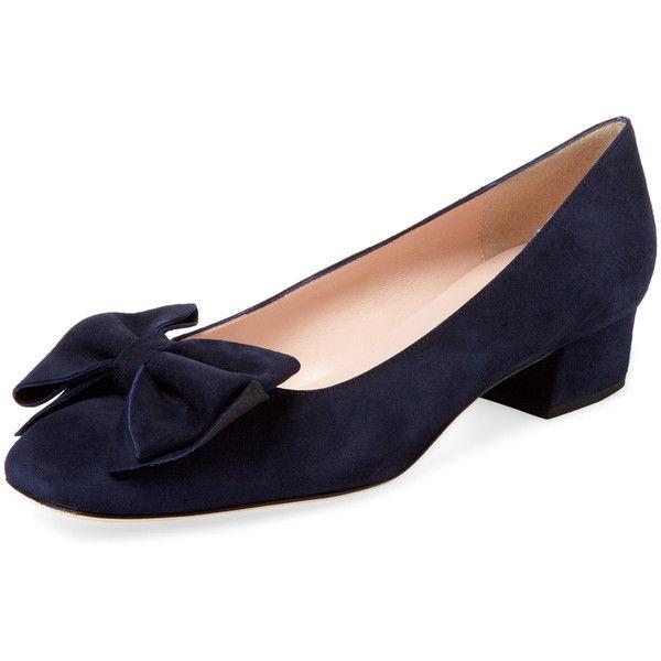 fd9ae45f7f1 kate spade new york shoes Women s Molly Block Heel Pump - Dark... (