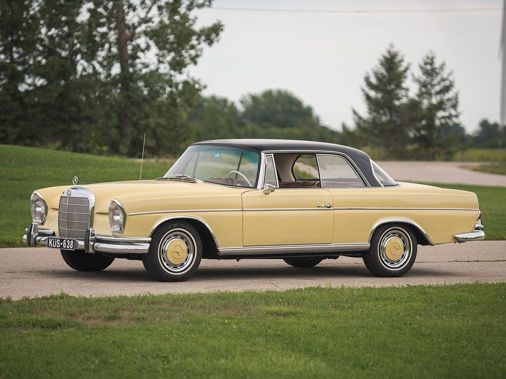 1965 mercedes benz 220 se coupe hershey 2016 rm for 1965 mercedes benz