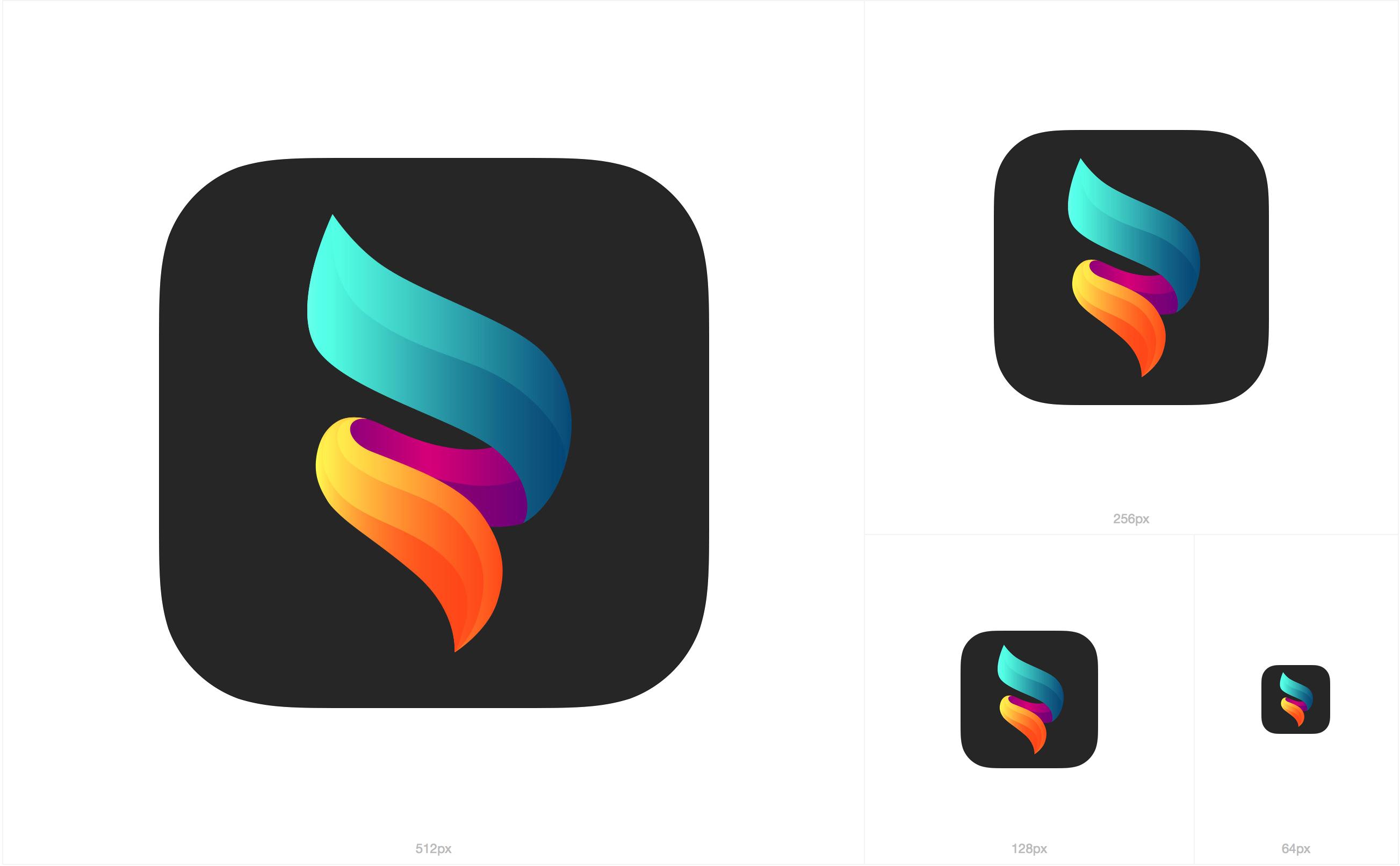 MaxCurve App Icon App icon, Tech logos, tech logo