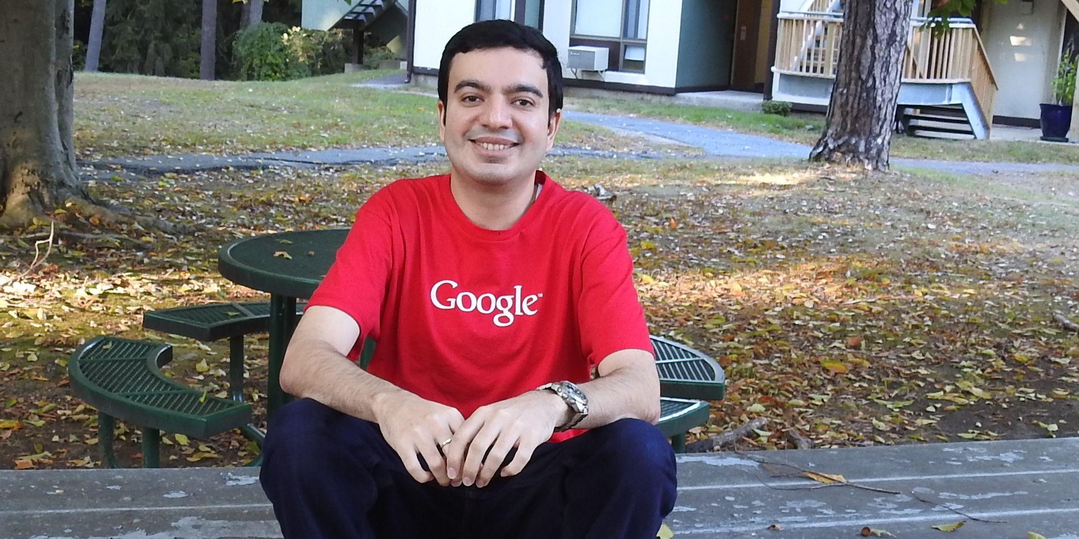 Sanmay Ved was able to buy Google.com for a minute before the accidental transaction was canceled. He's given the reward Google paid him to a charity in India.
