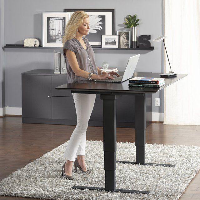 Jesper Height Adjustable Sit Stand Desk Petagadget Sit Stand Desk Adjustable Standing Desk Office Sit Stand Desk