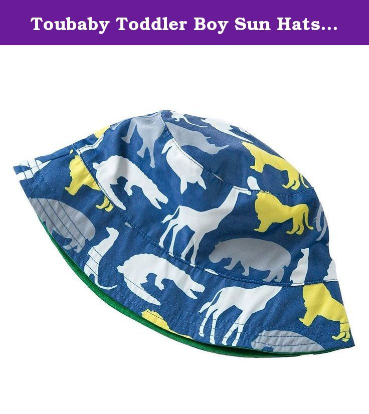 bba14063b2d Toubaby Toddler Boy Sun Hats Kid Boy Bucket Hats Dinosaur Hat 0-6t  (4-6years old). Toubaby is a professional manufacturer of children s hat.