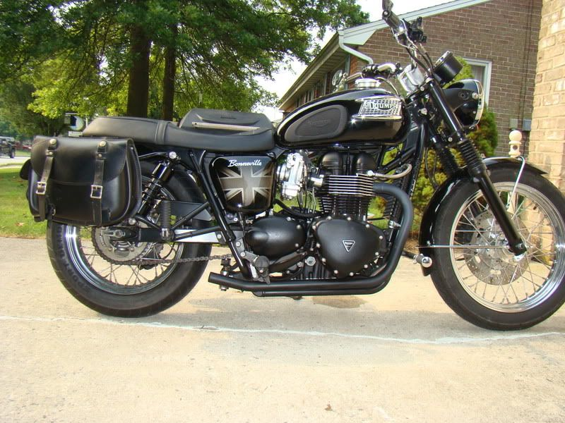 Custom Triumph Saddlebags Google Search With Images Triumph