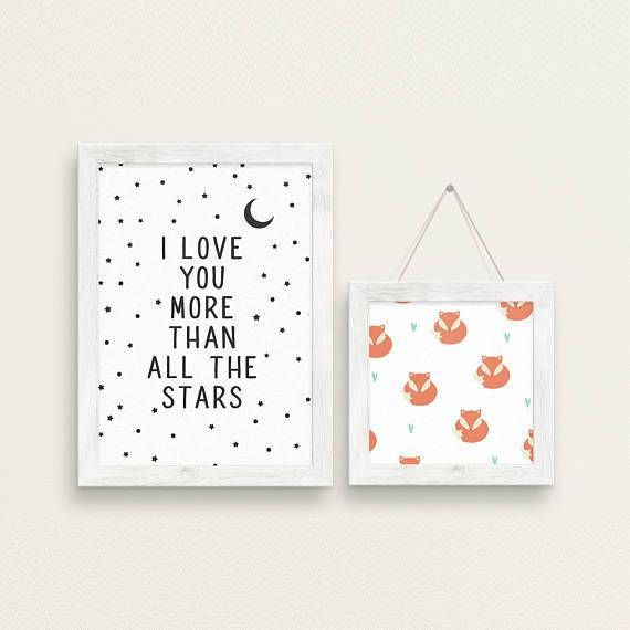 Choose 5 Prints From My Shop Set of 5 Art Prints Bedroom