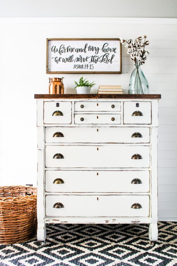 Farm style Empire Dresser with General Finishes Milk Paint Farmhouse Bedroom  Furniture, Farmhouse Dressers, - Farm Style Empire Dresser With General Finishes Milk Paint Painted