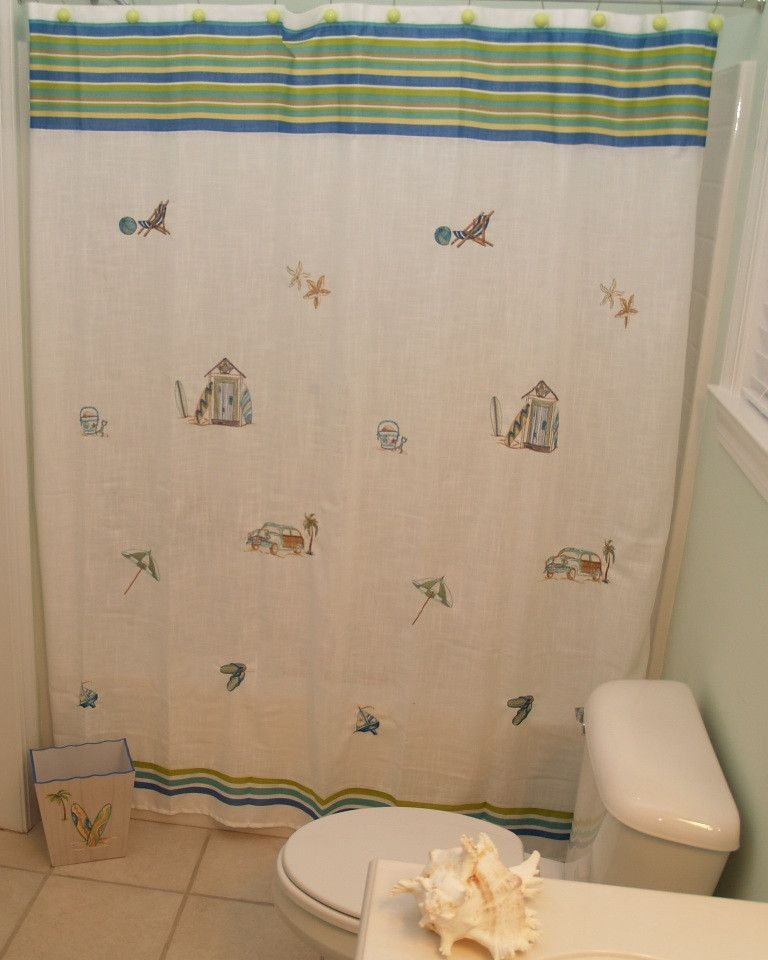 Ocean Surf Shower Curtain   Products