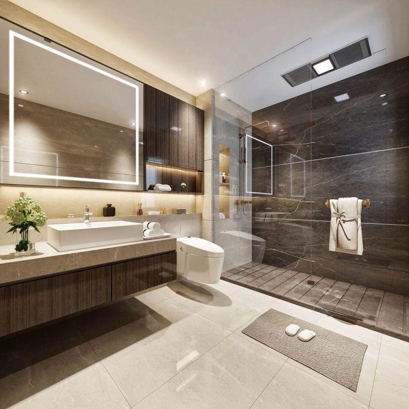 Examples Of Bathroom Designs: Examples Of Minimal Interior Design For Bathroom Decor 01