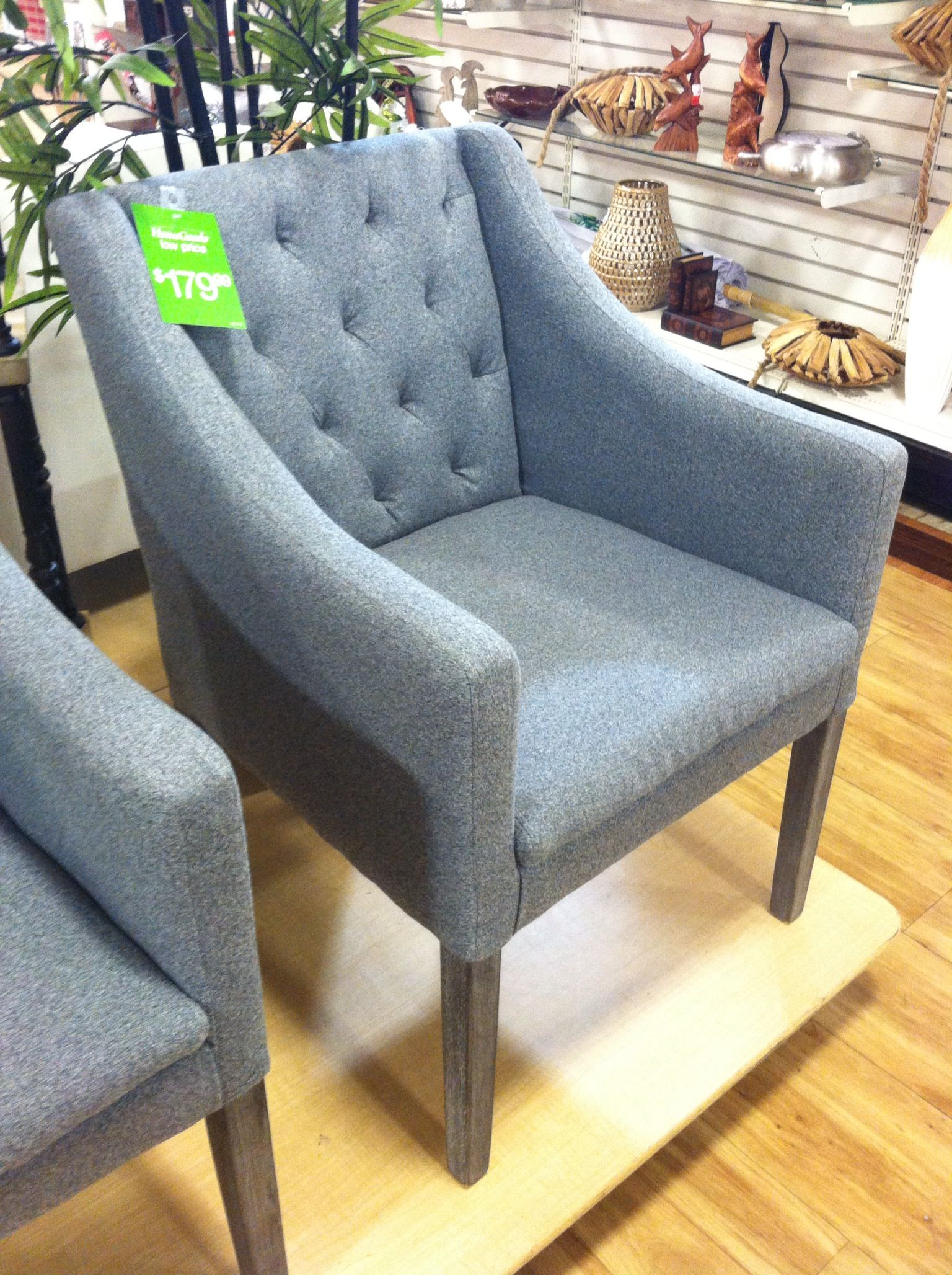 Home Goods Kitchen Chairs : goods, kitchen, chairs, Dining, Chairs, Upholstered, Gray., HomeGoods., Chairs,