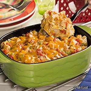 Light King Ranch Chicken Casserole | Lets Start Cooking