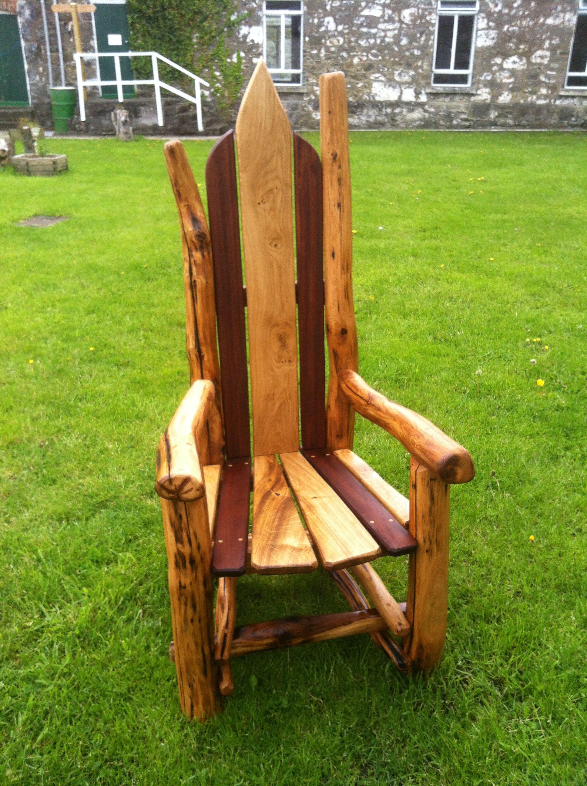 oak storytelling chair by freerangedesigns | Driftwood ...