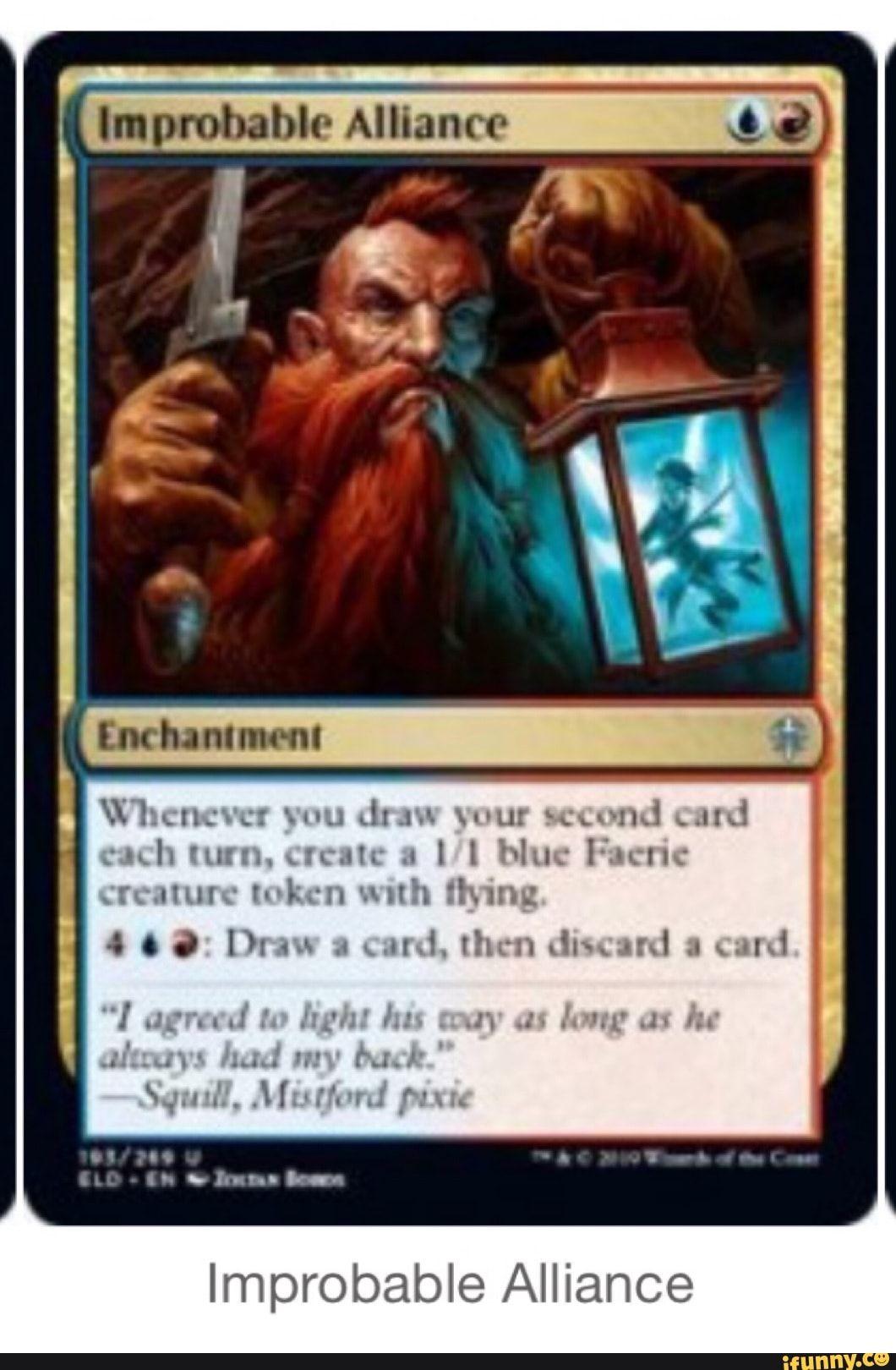 Improbable Alliance Mtg Magic Cards #4CO