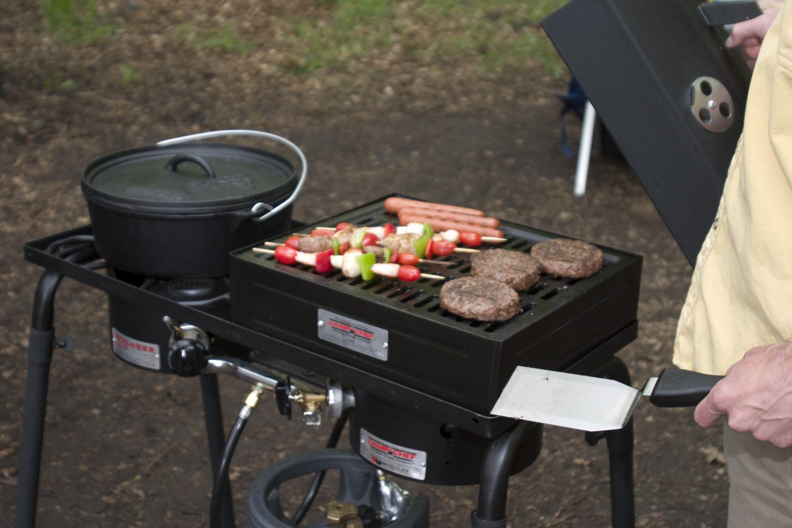 Camp Chef Barbecue Grill Box for Single Burner