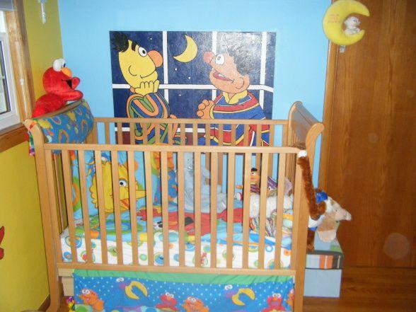 Sesame Street Room Decorating Ideas Cute Sesame Street Bedroom